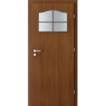 Interiérové dveře VERTE BASIC 1/3 sklo s rámečkem